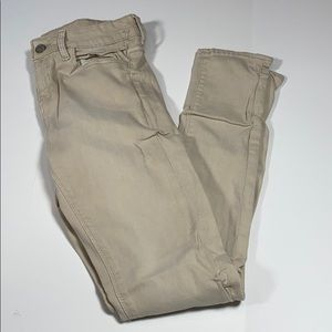 Zara SZ 4 Cotton Khaki Denim Jeans Distressed